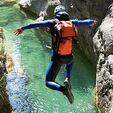 Descente du Canyon de Fanghetto près de Menton