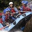 Descente Sportive en Rafting à Aime en Savoie