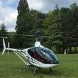 Baptême en Hélicoptère ULM près de Fontainebleau