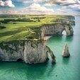 Week-end en Normandie - Etretat en Hélicoptère