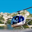 Baptême en Hélicoptère ULM - Survol de la Drôme