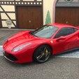 Stage sur Route en Ferrari 488 GTB près de Colmar