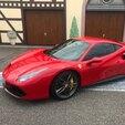 Baptême en Ferrari 488 GTB - Circuit de l'Anneau du Rhin