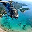 Baptême en Hélicoptère - Survol de la Baie d'Ajaccio