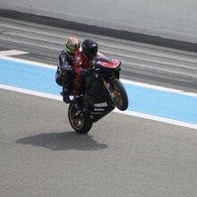 Baptême Moto en Suzuki - Circuit Paul Ricard piste GP