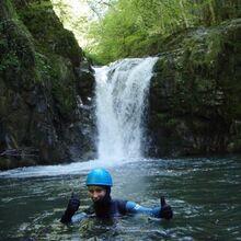 Descente du Canyon de Biou Gabas - 1/2 Journée