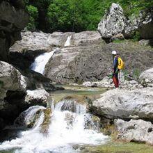 Descente du Canyon de Valcarlos près de Bayonne