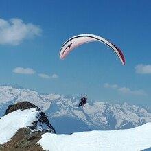 Baptême de Parapente à Ski au Col du Tourmalet
