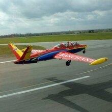 Vol en Avion de Chasse Fouga à Aix-en-Provence