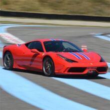 Stage en Ferrari 458 Speciale - Circuit de l'Anneau du Rhin