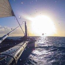 Promenade en bateau au coucher de soleil à Cogolin
