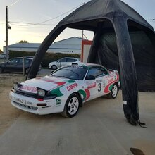 Stage Rallye en Toyota Celica près de Pau