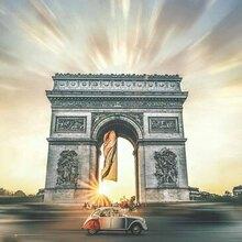 Balade en 2CV à Paris