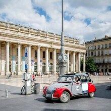 Balade en 2CV à Bordeaux