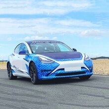 Stage en Tesla Model 3 Performance - Circuit du Mans