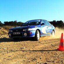 Baptême Rallye en Subaru - Circuit de Monteils