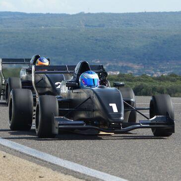 Stage pilotage Formule Renault Circuit de la Châtre