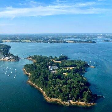 Aéroport de Vannes, Morbihan (56) - Baptême de l'air hélicoptère