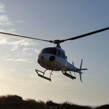 Aérodrome d'Arcachon - La Teste-de-Buch, Gironde (33) - Baptême de l'air hélicoptère