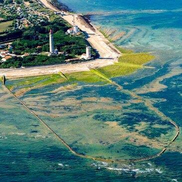 Aéroport de La Rochelle-Île de Ré, Charente maritime (17) - Baptême de l'air hélicoptère