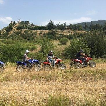 Randonnée en quad (Région viticole Aude)