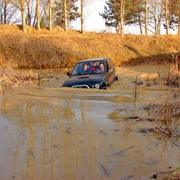 Stage de pilotage 4x4, département Lot