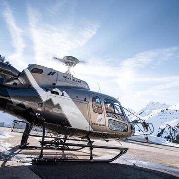 Baptême de l'air hélicoptère, département Haute savoie