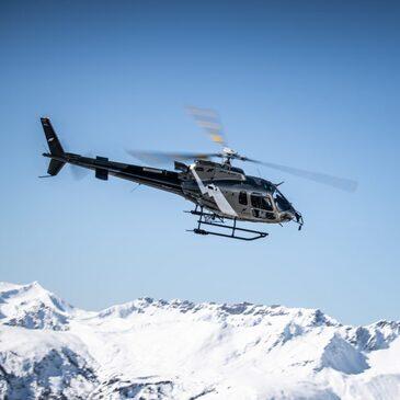Altiport de Megève, Haute savoie (74) - Baptême de l'air hélicoptère