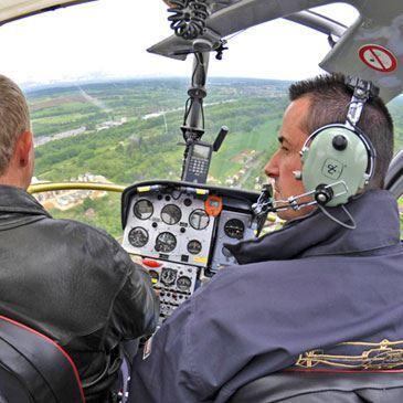 Vol d'initiation au pilotage en Hélicoptère Montbéliard