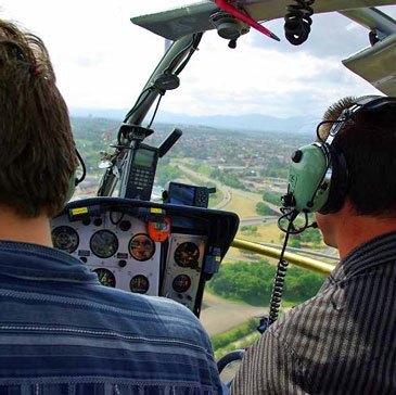 Stage initiation hélicoptère, département Doubs