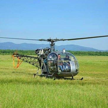 Aérodrome de Montbéliard-Courcelles, Doubs (25) - Stage initiation hélicoptère
