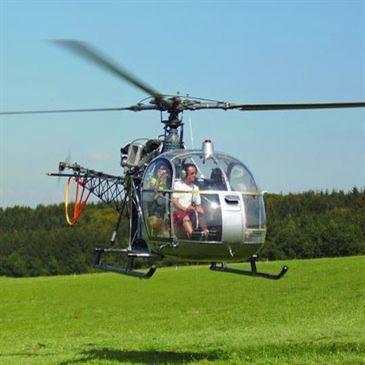 Baptême en Hélicoptère à Montbéliard