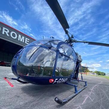 Baptême de l'air hélicoptère, département Doubs