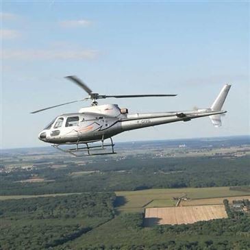 Baptême de l'air hélicoptère, département Saône et loire