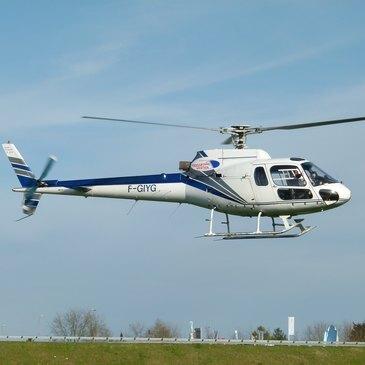 Baptême en Hélicoptère à Chalon-sur-Saône en région Bourgogne