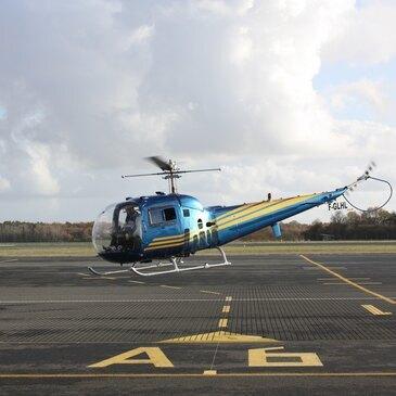 Stage initiation hélicoptère en région Centre