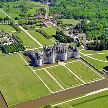 Baptême en hélicoptère à Orléans - Châteaux du Loiret