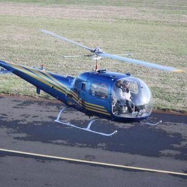 Baptême de l'air hélicoptère, département Loiret
