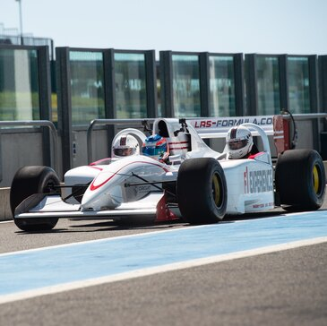 Baptême Formule 1 - Circuit de Catalunya