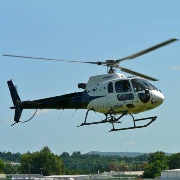Baptême Hélicoptère en région Auvergne