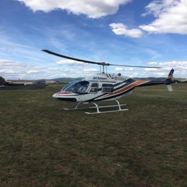 Baptême de l'air hélicoptère en région Auvergne