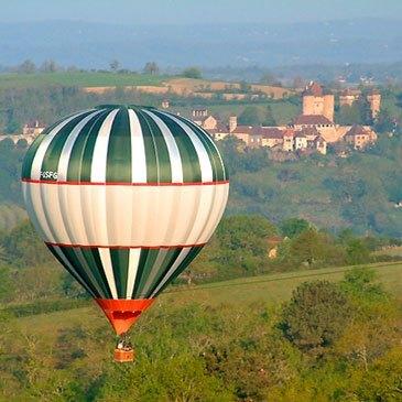 Baptême de l'air montgolfière, département Corrèze
