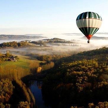 Baptême de l'air montgolfière en région Limousin