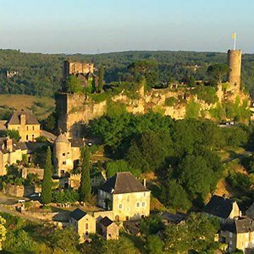 Baptême de l'air montgolfière, département Dordogne