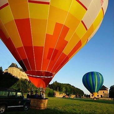 Baptême de l'air montgolfière en région Aquitaine