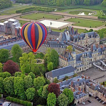 Vol en montgolfière (Fontainebleau)
