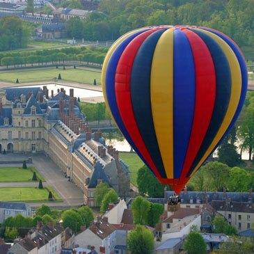 Fontainebleau, Seine et marne (77) - Baptême de l'air montgolfière