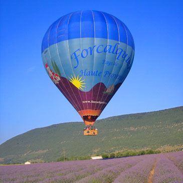 Vol en Montgolfière à Forcalquier