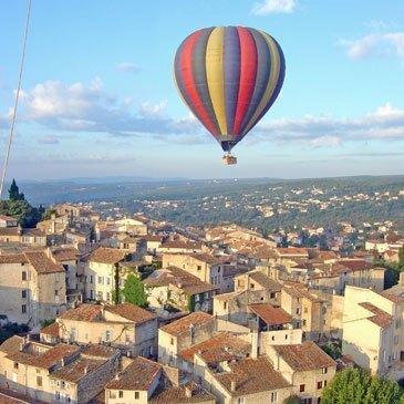 Forcalquier, Alpes de Haute Provence (04) - Baptême de l'air montgolfière