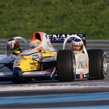 Baptême en Formule 1, département Côte d'or